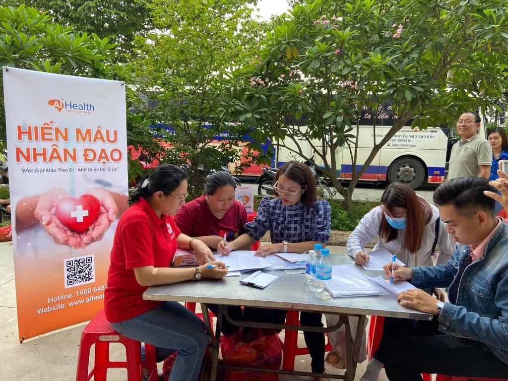 260 Đơn vị máu được hiến tặng tại chương trình Hiến máu nhân đạo tháng 6/2020