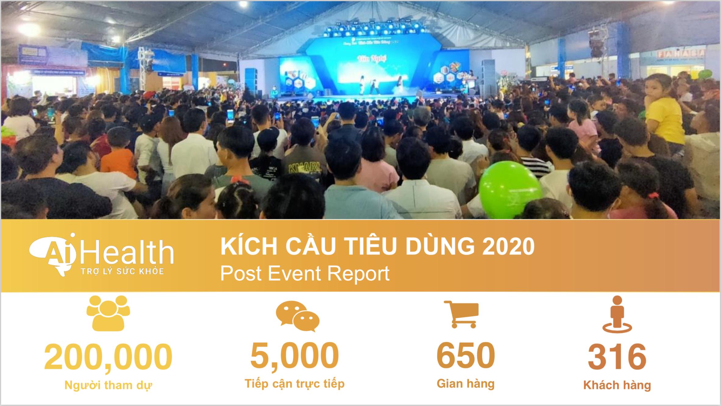 Hơn 200,000 Khách hàng tham quan sự kiện Kích Cầu Tiêu Dùng 2020