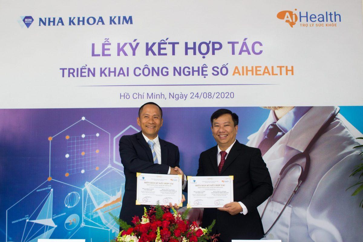 Nha Khoa Kim và AiHealth ký kết hợp tác triển khai công nghệ số AiHealth