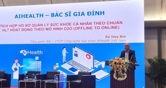 AiHealth - Bác sĩ Gia đình tham gia vào Hội nghị Chuyển đổi số Y tế Quốc gia 2020