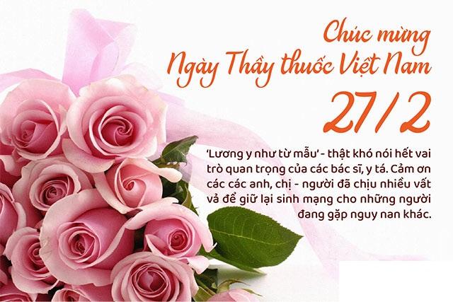 Chúc Mừng Ngày Thầy Thuốc Việt Nam 27/02