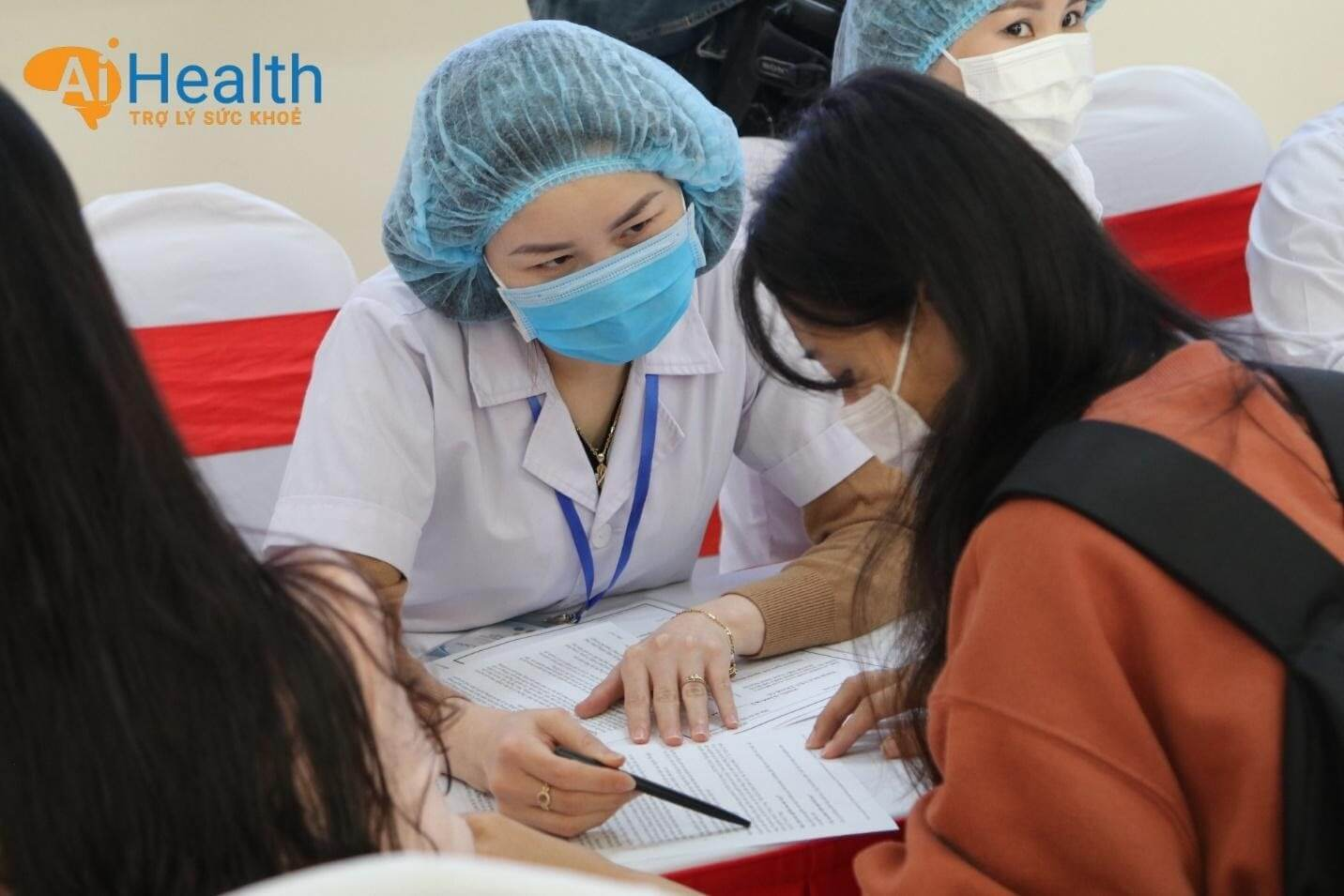 Quy trình đăng ký tiêm vắc xin Covid-19.