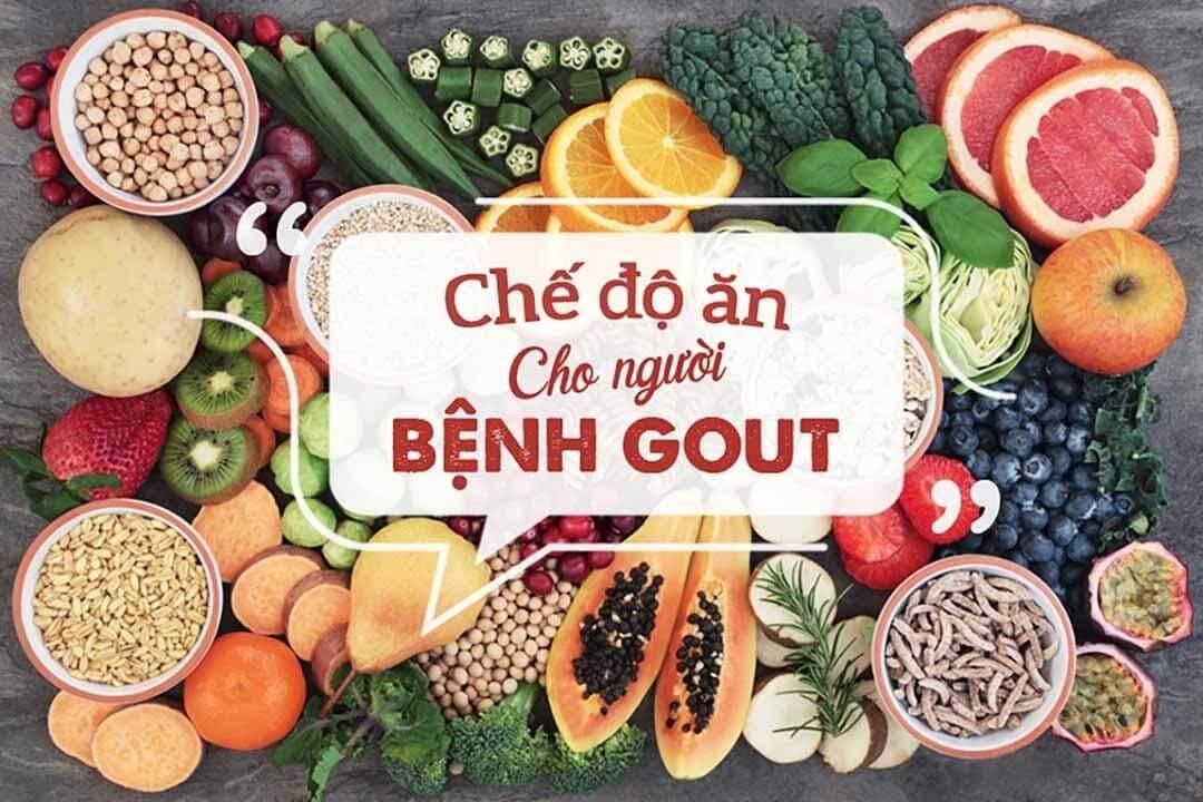 Chế độ ăn dành cho người bị bệnh Gout bạn nên biết