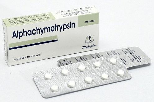 Chymotrypsin là thuốc gì? Công dụng và liều dùng đúng cách