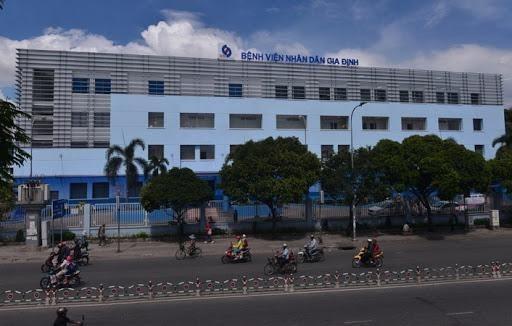 Mặt tiền Bệnh viện Gia Định.
