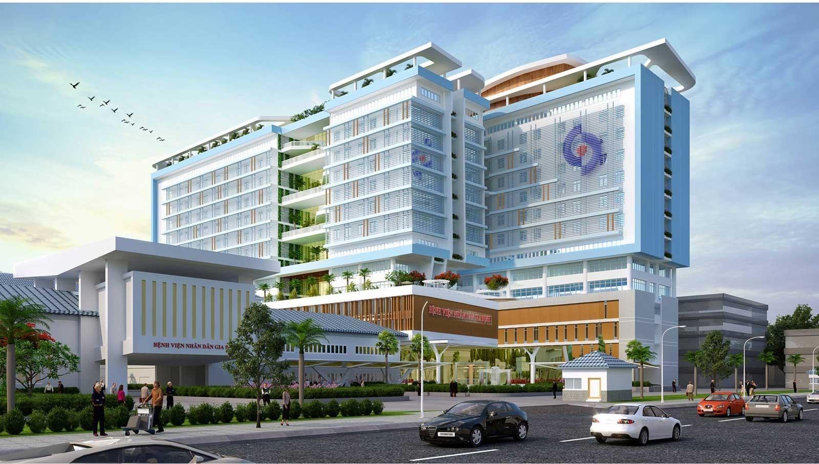 Bệnh viện Nhân dân Gia Định là một trong những bệnh viện lớn nhất TP.HCM.