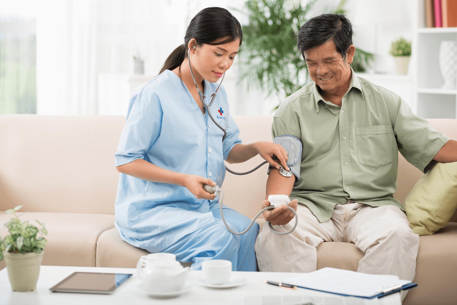 Đăng ký dịch vụ chăm sóc bệnh nhân Cần Thơ tại nhà qua ứng dụng AiHealth