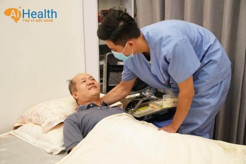 Chăm sóc bệnh nhân nằm ở tư thế tốt nhất tùy vào tình trạng sức khỏe.