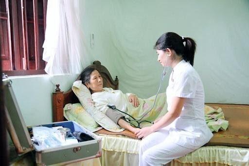 Bệnh viện Trung ương Huế có triển khai dịch vụ chăm sóc sức khỏe tại nhà.
