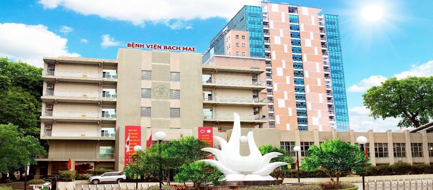 Bạch Mai là một trong những bệnh viện uy tín nhất cả nước.
