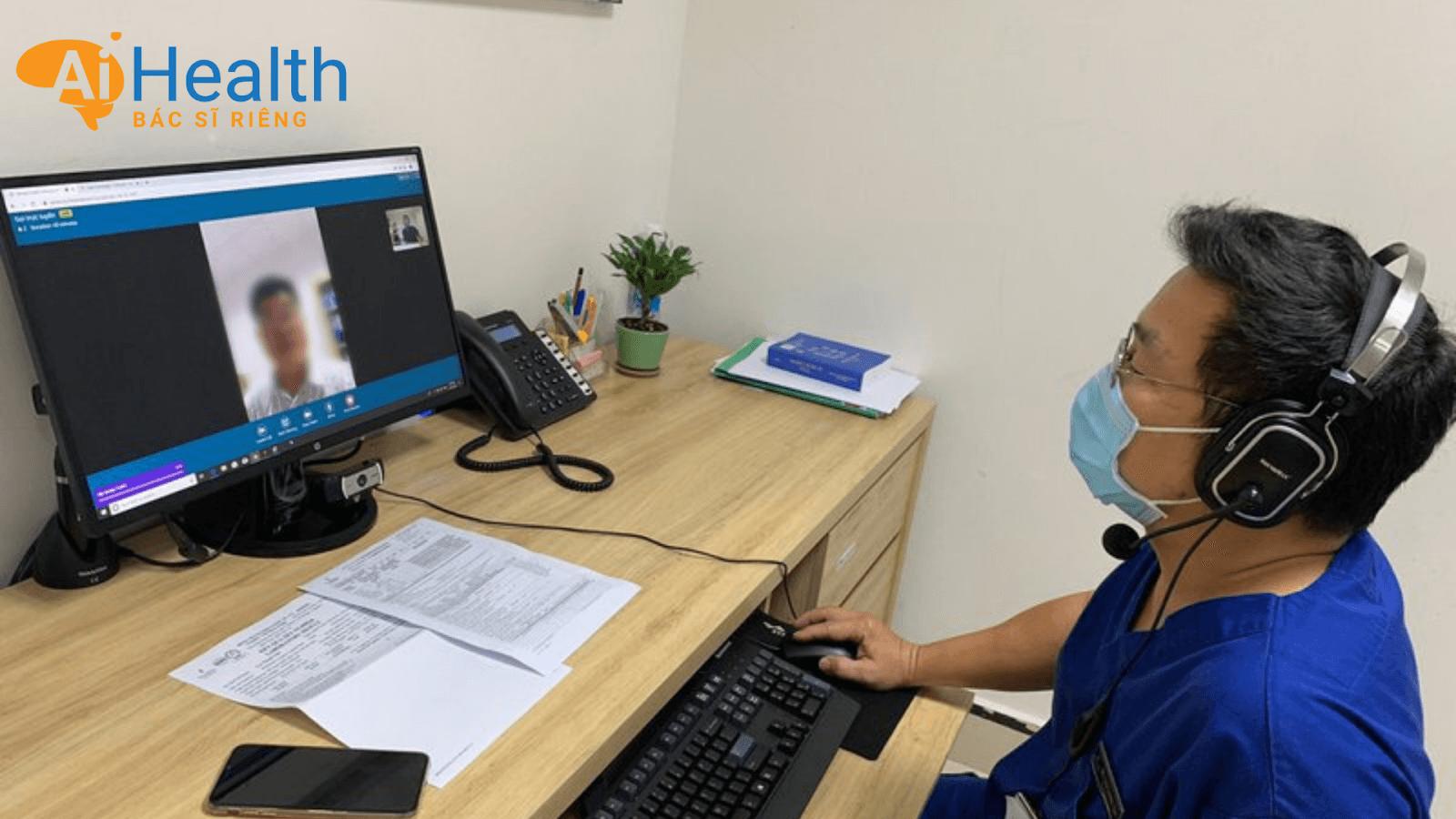 Khám bệnh online tiết kiệm thời gian cho người bệnh