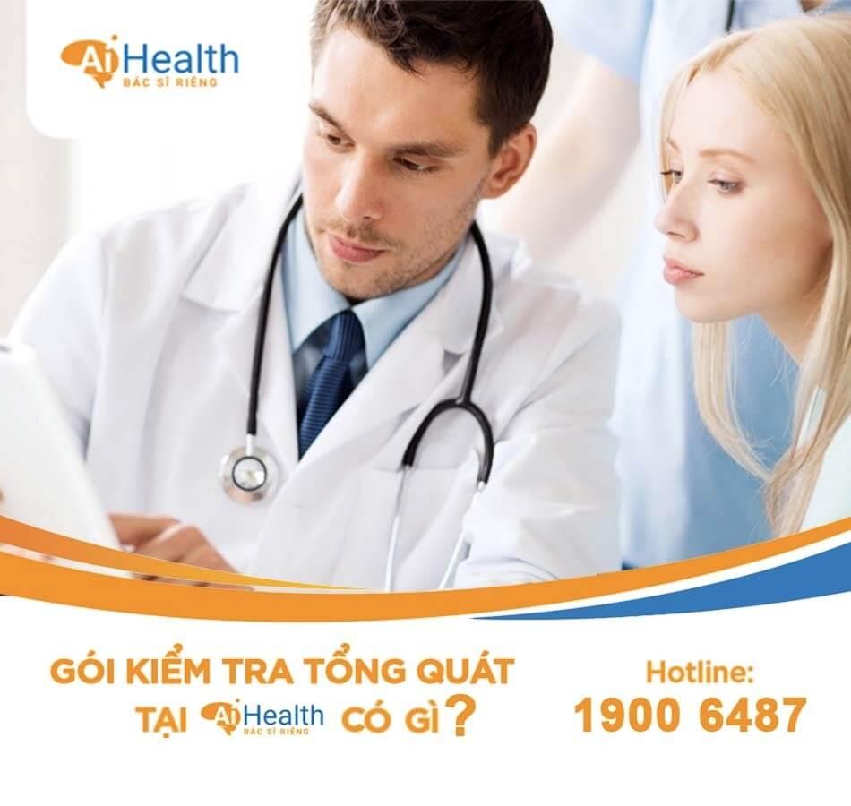 Gói khám sức khỏe tổng quát tại AiHealth