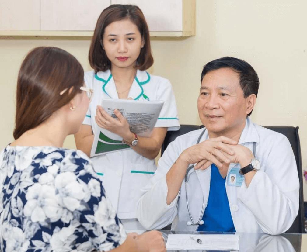 Thông tin về dịch vụ khám sức khỏe tổng quát Thu Cúc.