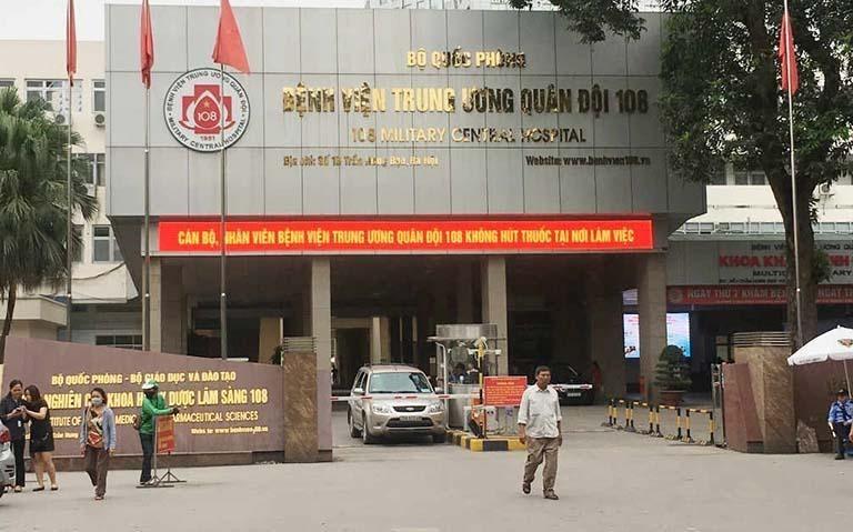 Cơ ngơi khang trang của Bệnh viện 108.