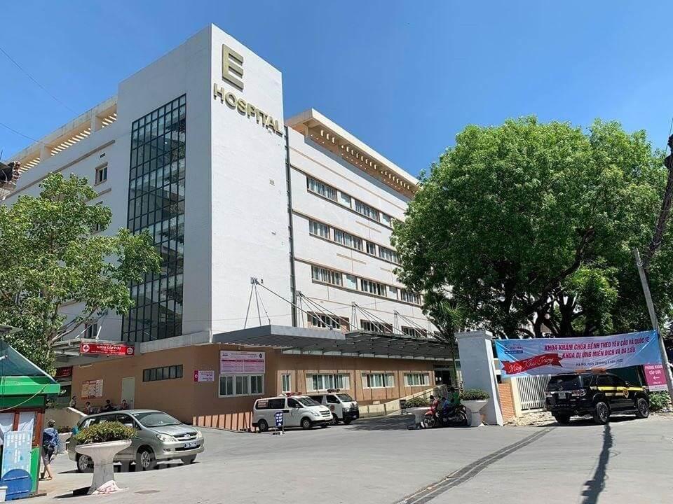 Khuôn viên của bệnh viện E