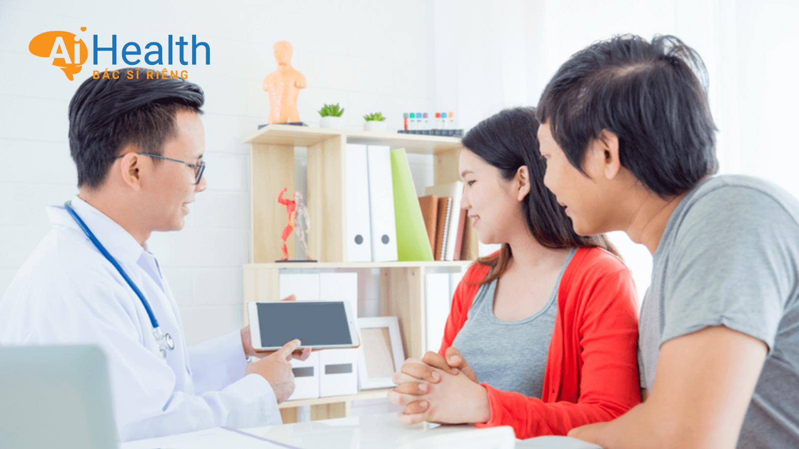 Khám sức khỏe trước khi mang thai nhằm đảm bảo an toàn cho chị em