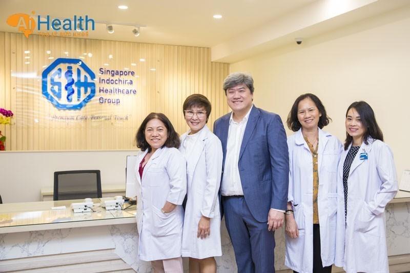 Phòng khám đa khoa SIHG với các chuyên gia có kinh nghiệm cao.