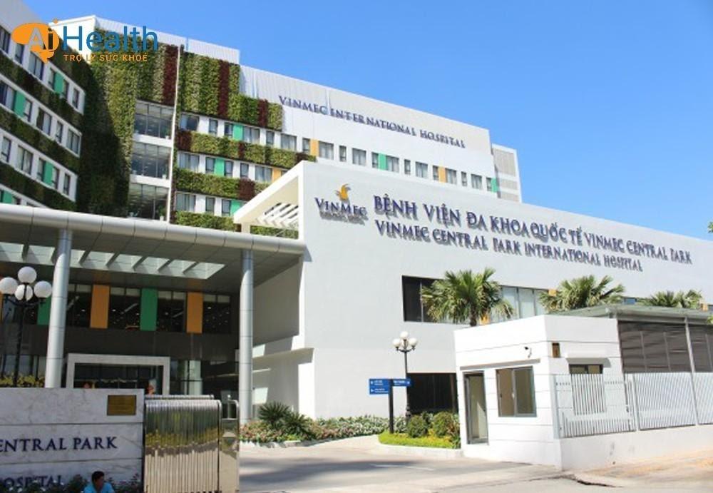 Bệnh viện đa khoa quốc tế Vinmec.