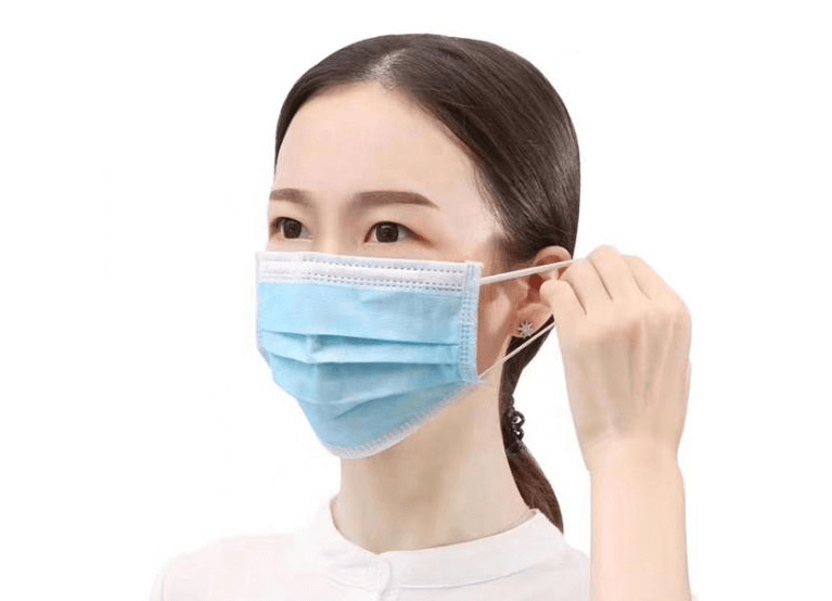 Đeo khẩu trang để bảo vệ cơ thể khỏi bụi bẩn, dịch bệnh