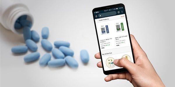 Mua thuốc online qua ứng dụng điện tử AiHealth.