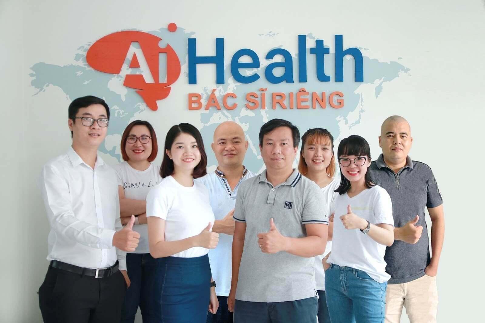 AiHealth hỗ trợ các dịch vụ sức khỏe trực tuyến nhanh chóng