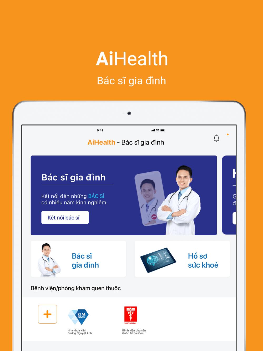 AiHealth - Bác sĩ gia đình của mọi nhà