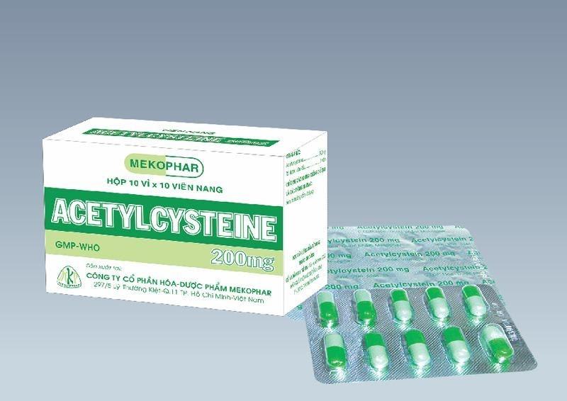 Tìm hiểu thuốc Acetylcystein - thuốc chữa long đờm hiệu quả