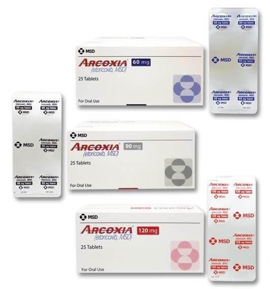 Thuốc Arcoxia
