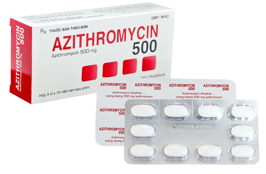 Công dụng của thuốc azithromycin & những lưu ý khi sử dụng thuốc