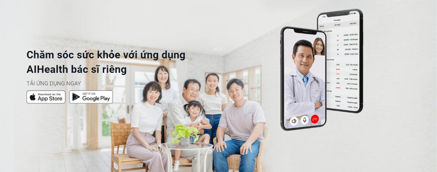 AiHealth giúp bạn kết nối trực tiếp tới bác sĩ gia đình phù hợp