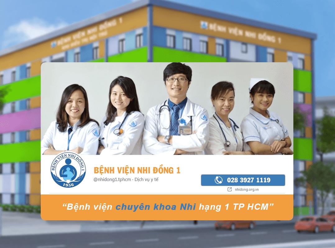Bệnh viện Nhi Đồng 1 tại TPHCM
