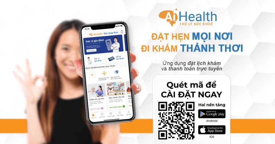 Đăng ký khám bệnh online Nhi Đồng 1,2 nhanh chóng tại app AiHealth