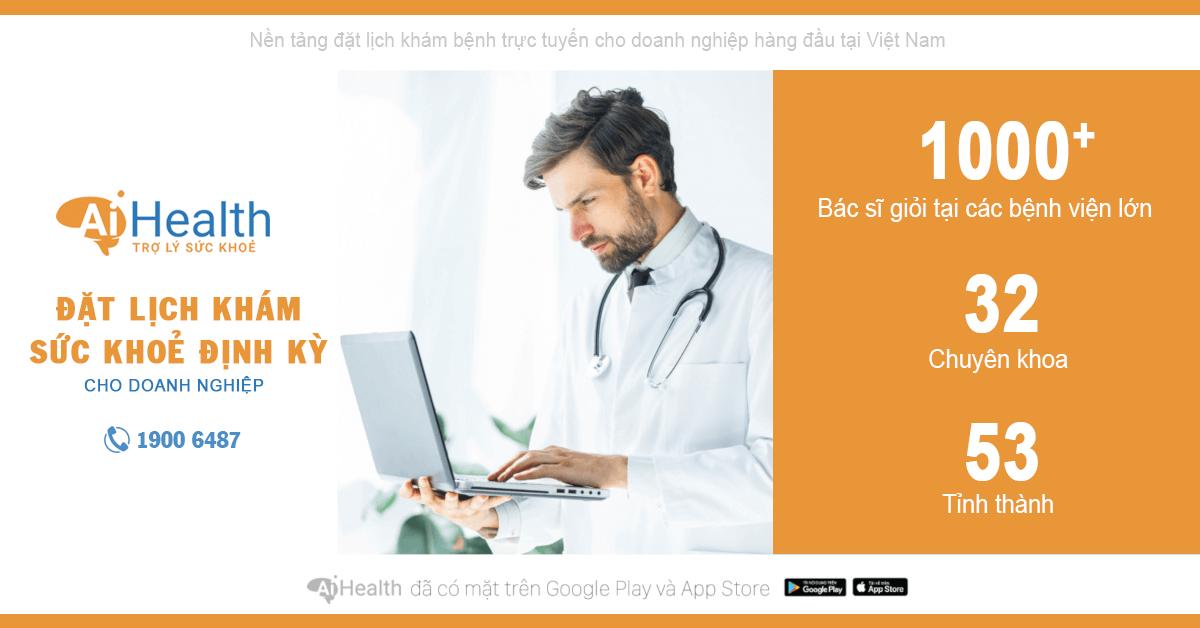 Đặt lịch khám sức khỏe định kỳ trên ứng dụng AiHealth