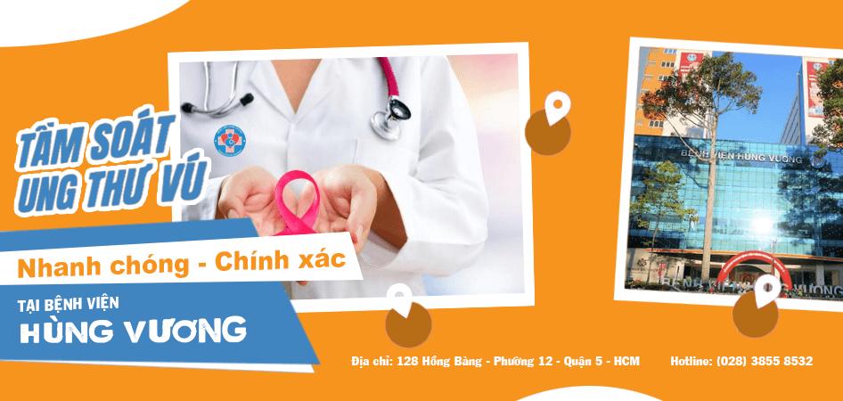 Gói khám tầm soát ung thư vú bệnh viện Hùng Vương